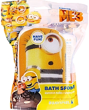 "Fragrances, Perfumes, Cosmetics Kids Bath Sponge ""Minions"", Patrick, yellow-blue - Suavipiel Minnioins Bath Sponge"