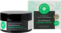 Fragrances, Perfumes, Cosmetics Universal Face & Body Cream with Natural Hemp Oil - Green Feel's Universal Face And Body Cream