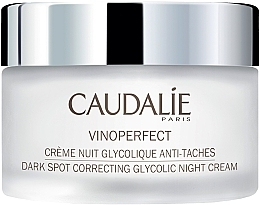 Fragrances, Perfumes, Cosmetics Glycolic Acid Night Cream - Caudalie Vinoperfect Dark Spot Correcting Glycolic Night Cream
