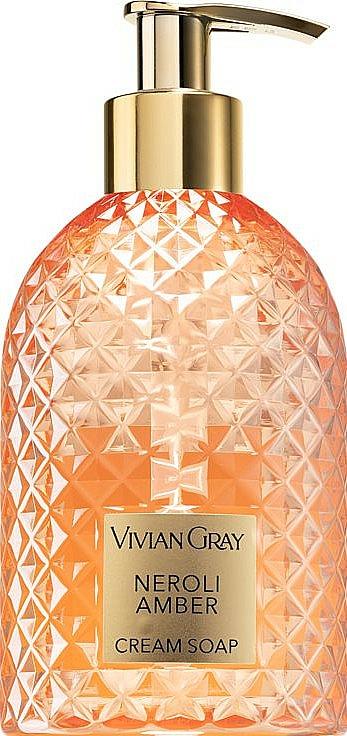 Neroli & Amber Cream Soap - Vivian Grey Gemstone Neroli & Amber — photo N1