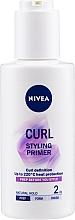 Fragrances, Perfumes, Cosmetics Wavy & Curly Hair Gel - Nivea Styling Primer Curl