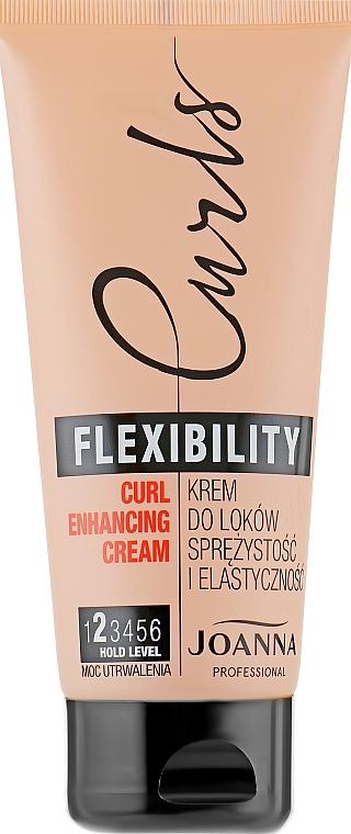 Wavy Hair Cream - Joanna Professional Curls Flexibility Curl Enhancing Cream