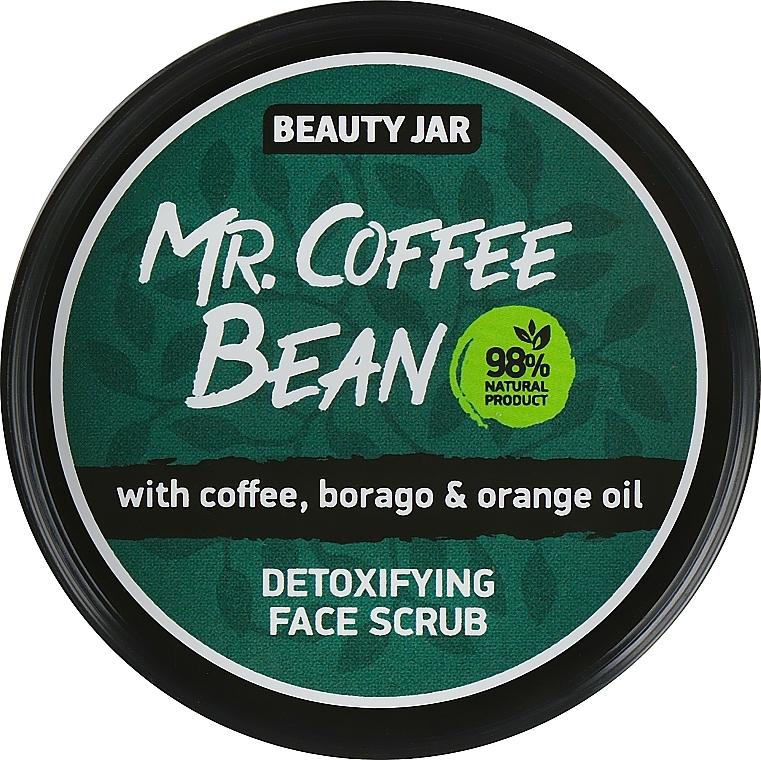 Mr. Coffee Bean Detox Face Scrub - Beauty Jar Detoxifying Face Scrub