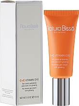 Fragrances, Perfumes, Cosmetics Repair Eye Contour Gel-Cream - Natura Bisse C+C Vitamin Eye
