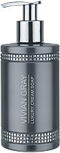 Fragrances, Perfumes, Cosmetics Liquid Soap - Vivian Gray Gray Crystals Luxury Cream Soap