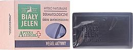Fragrances, Perfumes, Cosmetics Activated Charcoal Dermatological Soap - Bialy Jelen Apteka Alergika Soap