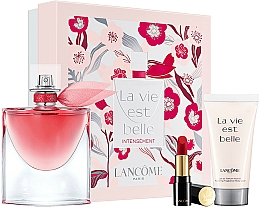 Fragrances, Perfumes, Cosmetics Set - Lancome (edp/50ml +b/lot/50ml + lip/3,4g)