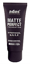 Fragrances, Perfumes, Cosmetics Mattifying Foundation - Ados Matte Perfect Foundation