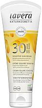 Fragrances, Perfumes, Cosmetics Sunscreen Cream for Sensitive Skin - Lavera Sensitive Sun Cream SPF 30