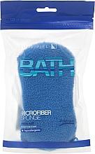 Fragrances, Perfumes, Cosmetics Bath Sponge, dark blue - Suavipiel Microfiber Bath Sponge Extra Soft