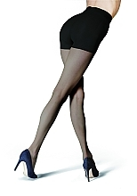 """Fragrances, Perfumes, Cosmetics Body Shaping Tights """"Two up"""", 20 Den, nero - Knittex"""