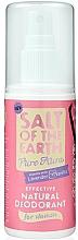 Fragrances, Perfumes, Cosmetics Natural Deodorant Spray - Salt of the Earth Pure Aura Natural Deodorant Spray