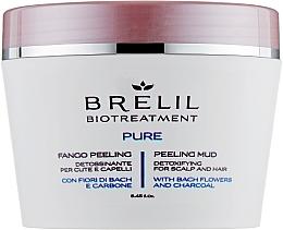 Fragrances, Perfumes, Cosmetics Cleansing Hair Mud Peeling - Brelil Bio Traitement Pure Peeling Mud