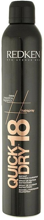 Hair Spray - Redken Quick Dry 18 Instant Finishing Spray