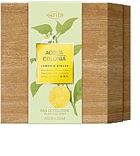 Fragrances, Perfumes, Cosmetics Maurer & Wirtz 4711 Aqua Colognia Lemon & Ginger - Set (col 170ml + soap/100g)