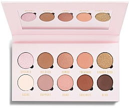Fragrances, Perfumes, Cosmetics Eyeshadow Palette - Makeup Obsession Be In Love With Eyeshadow Palette