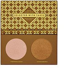 Fragrances, Perfumes, Cosmetics Highlighter Palette - Zoeva Caramel Melange Highlighter