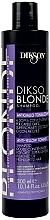 Fragrances, Perfumes, Cosmetics Anti-Yellow Toning Shampoo - Dikson Dikso Blonde Anti-Yellow Toning Shampoo