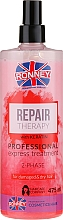 Fragrances, Perfumes, Cosmetics 2-Phase Mist for Damaged and Dry Hair - Ronney Repair Therapy Professional Express Treatment 2-Phase