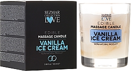 "Fragrances, Perfumes, Cosmetics Natural Massage Candle ""Vanilla"" - Sezmar Collection"