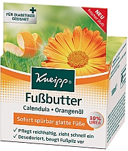 Fragrances, Perfumes, Cosmetics Foot Oil - Kneipp Foot Repair Butter Calendula & Orange