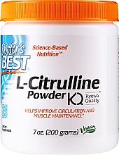 Fragrances, Perfumes, Cosmetics L-Citrulline Amino Acid, powder - Doctor's Best