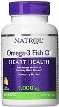 Fragrances, Perfumes, Cosmetics Omega-3 Fish Oil, 1000mg - Natrol Omega-3 Fish Oil