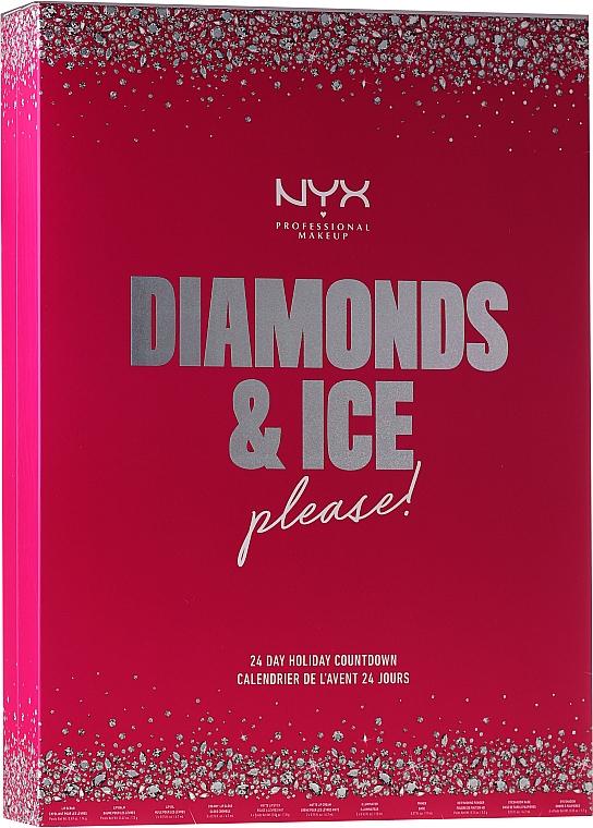 "Set ""Advent Calendar"" - NYX Professional Makeup Diamond & Ice Advent Calendar Makeup Set"
