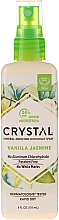 Fragrances, Perfumes, Cosmetics Body Deodorant Spray with Vanilla and Jasmine Scent - Crystal Mineral Deodorant Spray Vanilla Jasmine