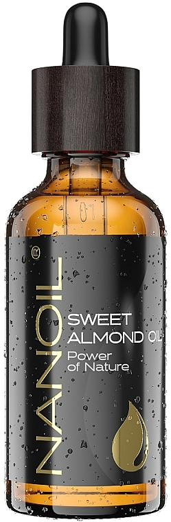 Almond Oil - Nanoil Body Face and Hair Sweet Almond Oil