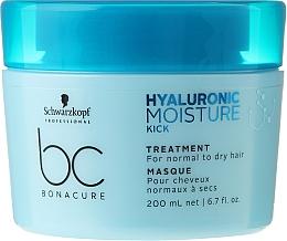 Fragrances, Perfumes, Cosmetics Moisturizing Hair Care Mask - Schwarzkopf Professional Bonacure Hyaluronic Moisture Kick Treatment