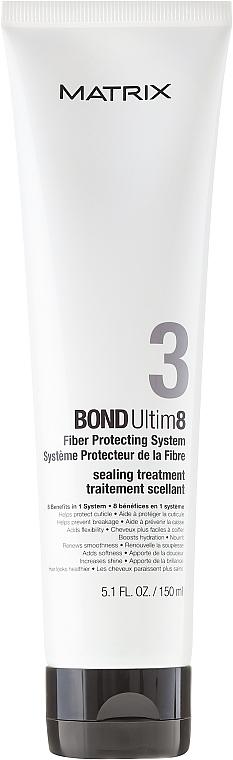 After Salon Treatments Hair Care - Matrix Bond Ultim8 Sealing Treatment Step 3