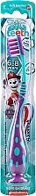Fragrances, Perfumes, Cosmetics Kids Toothbrush, 6-8 yrs, purple-blue - Aquafresh Soft Big Teeth