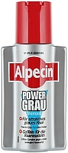 Fragrances, Perfumes, Cosmetics Gray Hair Shampoo - Alpecin Power Grau Shampoo