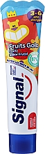 Fragrances, Perfumes, Cosmetics Kids Toothpaste, 3-6 yrs, with fruit flavor - Signal Kids Fruit Flavor Toothpaste