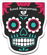 Fragrances, Perfumes, Cosmetics Facial Sheet Mask - Dr Mola Sweet Masquerade Coconut Mask