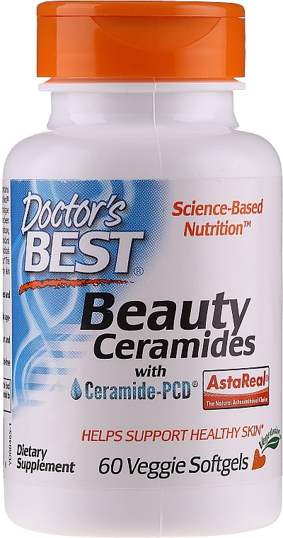 Beauty Ceramides - Doctor's Best Beauty Ceramides with Ceramide-PCD