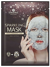 Fragrances, Perfumes, Cosmetics Cleansing Charcoal Sheet Mask - Shangpree Sparkling Mask
