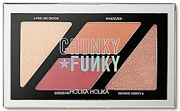 Fragrances, Perfumes, Cosmetics Blush & Highlighter Palette - Holika Holika Chunky Funky So Funk Multi Blusher Palette