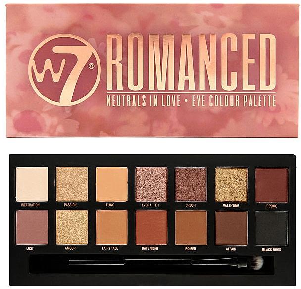 Eyeshadow Palette - W7 Romanced Eyeshadow Palette