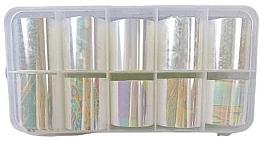 Fragrances, Perfumes, Cosmetics Nail Art Foil, 10 pcs - Deni Carte