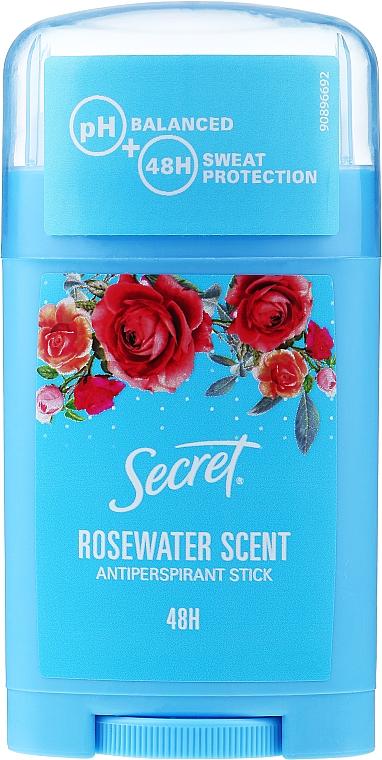 "Antiperspirant Stick ""Rosewater Scent"" - Secret Antiperspirant Stick Rosewater Scent"
