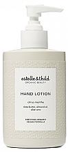 Fragrances, Perfumes, Cosmetics Hand Lotion - Estelle & Thild Citrus Menthe Hand Lotion