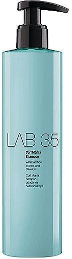 Wavy & Curly Hair Shampoo - Kallos Cosmetics Lab 35 Curl Shampoo