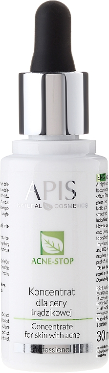 Face Concentrate - APIS Professional Concentrate For Acne Skin