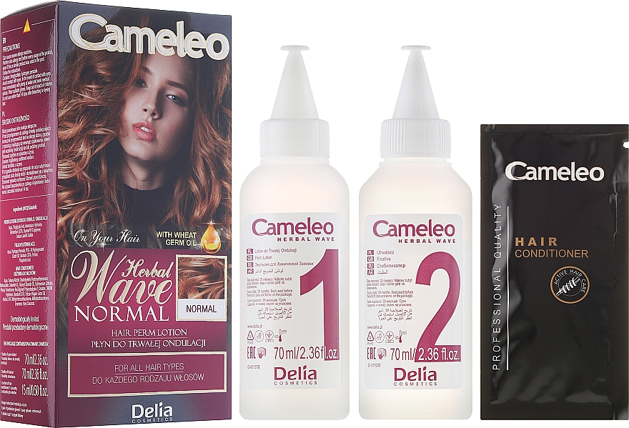 Perm Care for All Hair Types - Delia Cameleo Herbal Wave