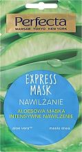 Fragrances, Perfumes, Cosmetics Moisturizing Face Mask with Aloe Vera - Perfecta Express Mask