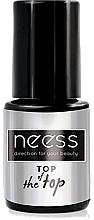 Fragrances, Perfumes, Cosmetics Gel Polish Top Coat - Neess Top Of The Top For Hybrid Varnish