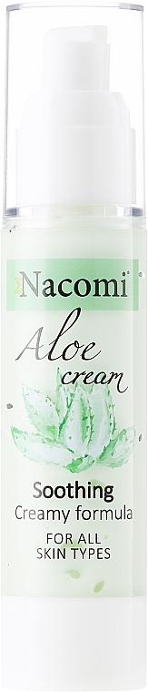 "Face Cream-Gel ""Aloe"" - Nacomi Aloe Cream"