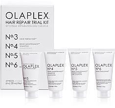 Fragrances, Perfumes, Cosmetics Hair Repair Kit - Olaplex Hair Repair Trial Kit (shm/30ml + con/30ml + elixir/30ml + h/cr/30ml)